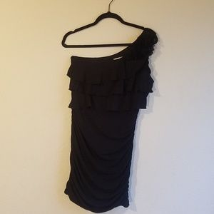 B TOO Byer California Medium Black Dress